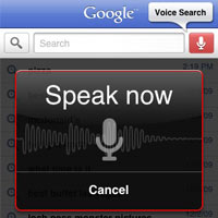Google Voice Search Update