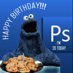 Happy Birthday Photoshop!