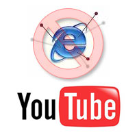 YouTube Drop IE6 Support